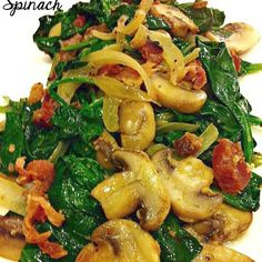 Sauteed Spinach - 110 Calories