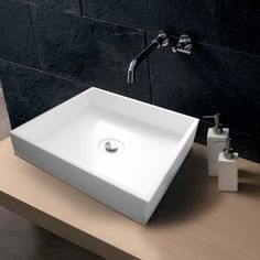 Delta Designer Stone Solid Surface Basin by Prodigg