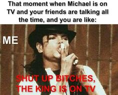 RESPECT for the KING!! <3
