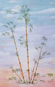Use our Bamboo Painting Stencil to quickly and easily create an asian inspired pattern on your walls!