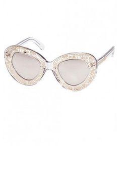 2b2f064f12d Gold Designer Sunglasses - Gold Designer Eyewear - ELLE Golden Eyes