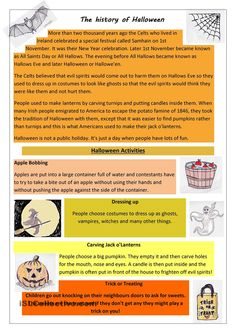 The History of Halloween