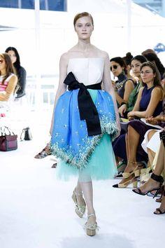 DELPOZO Primavera-Verano 2016 Delpozo, Ss16, Couture Fashion, Industrial Style, Catwalk, Tulle, Ballet Skirt, New York, Silhouette