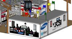 Container Trade Show Pavilion Design designed by LU Schildmeyer