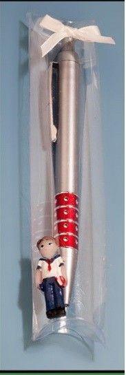 Bolígrafo en caja de acetato