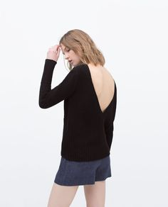 V-BACK SWEATER-Collection-Stock clearance-WOMAN-SALE | ZARA United States