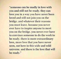 There IS love that will be ready Yes! And a love that is ready, would love to COMMIT to you and spend forever with youuuu That's so exciting! ❤️