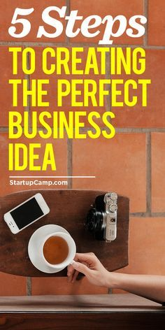 "5 Steps to Creating the Perfect Business Idea  The next step after ""dream"" is ""plan"". This will help!"