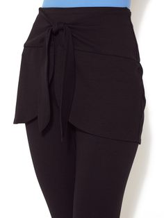New Spanx 1212 Wrap & Go Skirt Black Sze S/M L/XL R$68 Butt Covering Tennis NICE #Spanx #WrapSkirt