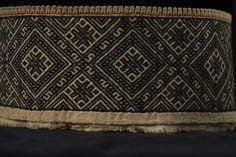 Medieval Embroidery, Hardanger Embroidery, Krage, Celtic, Scandinavian, Norway, Sweden, Ornament, Crafts