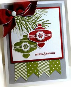RECIPE: Stamps: Peaceful Wishes, To You and Yours Paper: Old Olive, Cherry Cobbler, Smoky Slate, Whisper White, Old Olive DSP Ink: Cherry C...