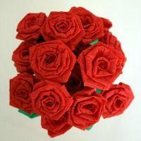 Craft a paper bouquet