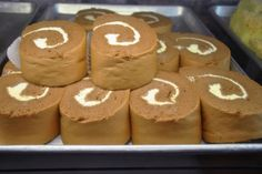 The Best Chinese Bakery Sweets in Manhattan's Chinatown | Serious Eats - Sheet Roll Cakes