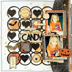 American Crafts Guest Designer - October 2014 - Haunted Hollow collection.