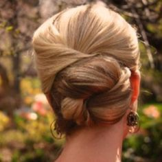 1920s hair updo bridal | Easy updo