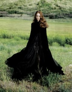 the look: redhead celtic witch