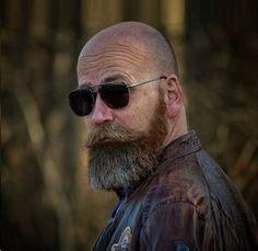 Top 30 Amazing Bald with Styles Men Bald with beard designs - Beard Bald Men With Beards, Bald With Beard, Black Men Beards, Bald Man, Goatee Beard, Beard Haircut, Beard Fade, Beard Look, Bart Design