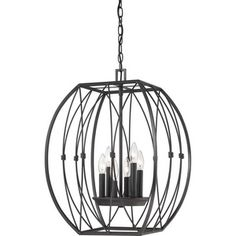 Cleveland Lighting | Six Light Chandelier