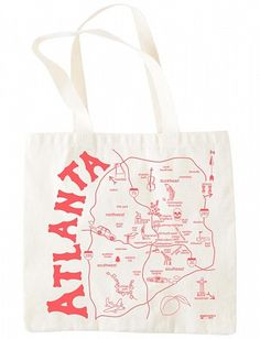 An Atlanta tote. Of course, I need this.