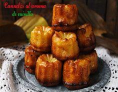 El jardín de mis recetas: CANNELÉS AL AROMA DE VAINILLA