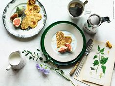 Breakfast ❤ Photo: Roland Persson. Food style : Elin Åström for Ikea