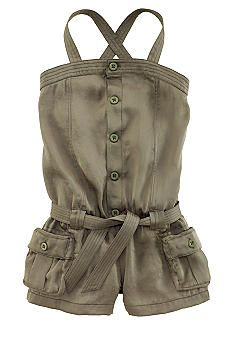 Ralph Lauren Childrenswear Traveler Romper Toddler Girls