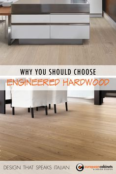 When it comes to #flooring, there are a lot of options out there: solid #hardwood, engineered hardwood, #wood composite, laminate, concrete, and carpet to name a few. Well-made laminates are a great cost-conscious option for a high traffic floor, but both realtors and designers alike will tell you that if you really want to make an impression with guests or potential buyers, hardwood is the way to go.