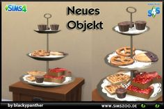 Blackys Sims 4 Zoo: Cake tray full by blackypanther • Sims 4 Downloads
