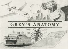 greys anatomy drawing - Google Search