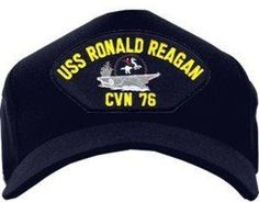 USS Ronald Reagan CVN-76  Ball Cap