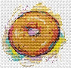 Delicious Donut Kitchen Mini Series  Mini by TheArtofCrossStitch, $4.99