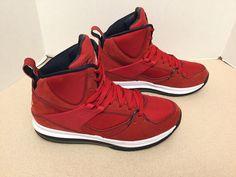 Mens Nike Air Jordan Flight 45 High Max CP3 Red /White Shoes. Size 7.5. Nice!!!