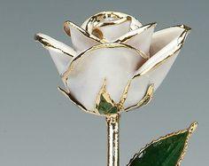 Rose Gold Ring: Rose Gold Ring Dipped In White Gold