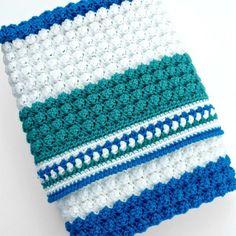 Free Crochet Pattern: Pillow Soft Throw Blanket | Pattern Paradise