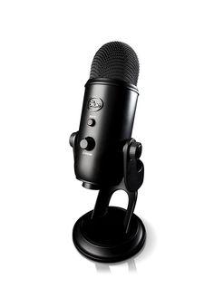 Amazon.com: Blue Yeti USB Microphone - Blackout Edition: Musical Instruments