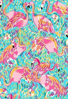 Pink Flamingo graphic