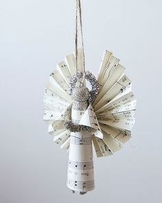 Wäscheklammer Engeln Ornaments handgemachte von smilemercantile
