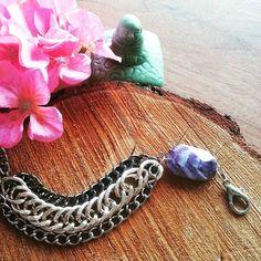 Ephtenia Zeno Bracelet with amethyst stone