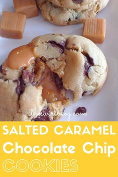 When you heat these cookies up, the caramel literally explodes out of them. Add…