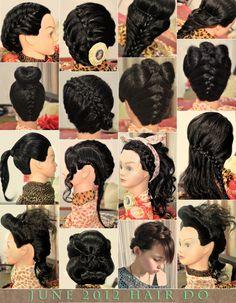 Peinados para probar