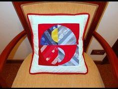 Almofada em patchwork Kelis - Maria Adna Ateliê - Cursos e aulas de patchwork - Almofadas - YouTube