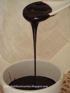 Arabafelice in cucina!: Salsa al cioccolato milleusi