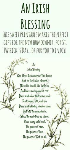 Irish Prayer, Irish Blessing, Immigration Quebec, Happy St Patrick, Irish Quotes, Irish Sayings, Irish Poems, St Patricks Day Quotes, Irish Proverbs