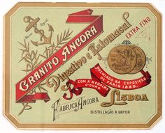 liqueur label