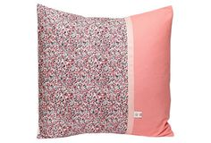 Decorative Pillow, Pink Trim on OneKingsLane.com #sarahjanestudios