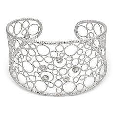 Borsheims Diamond Cuff Bracelet