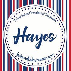 Beloved Baby Names: 7 Overlooked Presidential Surnames