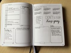 Bullet journal monthly spread - ideas and inspiration • ForeverGoodLife