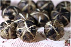 菇菇奶黃包