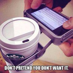Funny Coffeeology | Funny Coffee Pics from Funny Technology - Coffee Every Day - Community - Google+ via Samia Elsaid | #smartphonehumor #coffeehumor